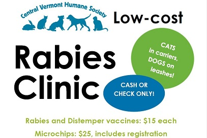 Low Cost Rabies and Microchip Clinic