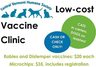 Low Cost Rabies and Microchip Clinics